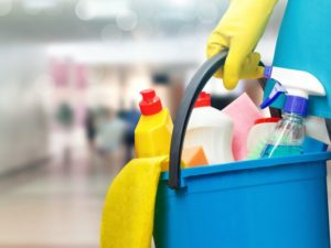Product cleaning supplies